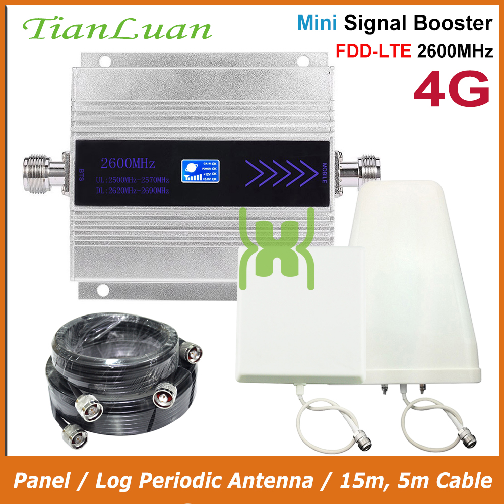 TianLuan Mini B7 4G Booster 2600MHz Mobile Phone Signal Booster LTE 4G 2600 MHz Cellular Phone Signal Repeater Amplifier Band 7