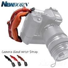 PU Leder weiche Kamera Hand Band Handgelenk Strap Gürtel für Sony Nikon Canon Pentax Fujifilm DSLR Kameras