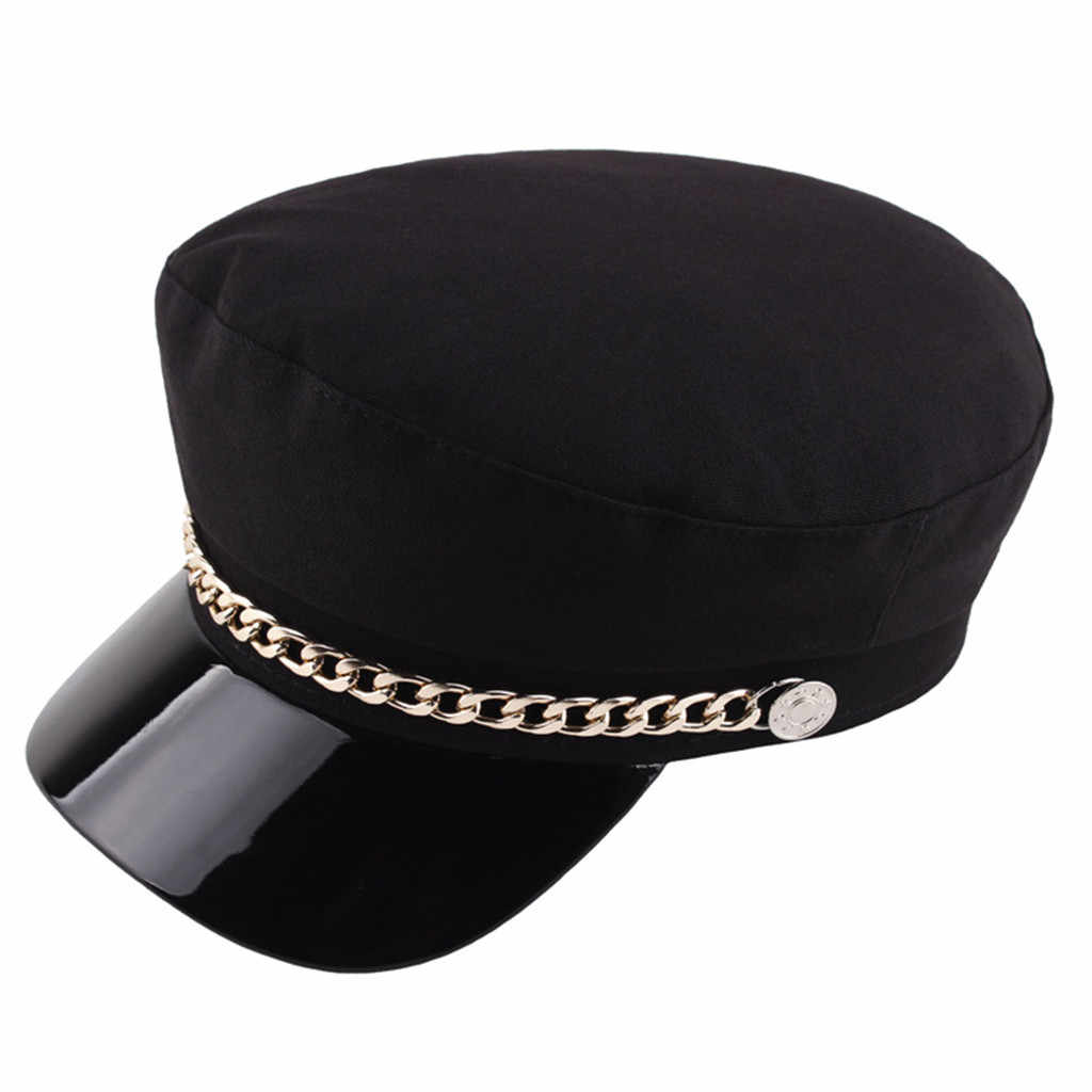 Autumn Winter Wool Military Berets For Women Female Flat Cap Hat Black Girl Ladies Travel Berets Painters Cap E3