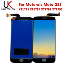 LCD Display For Motorola Moto G5S XT1793 XT1794 XT1792 XT1795 LCD Display Digitizer Screen Complete Assembly