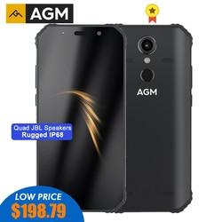 Agm a9 smartphone áspero qualcomm sdm450 octa-core 5.99