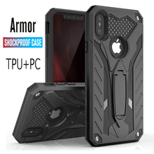 Shockproof Case For iPhone 11 Pro 6 6s 7 8 Plus 5 5s SE Kickstand Military Grade X XS XR Max Phone Cover
