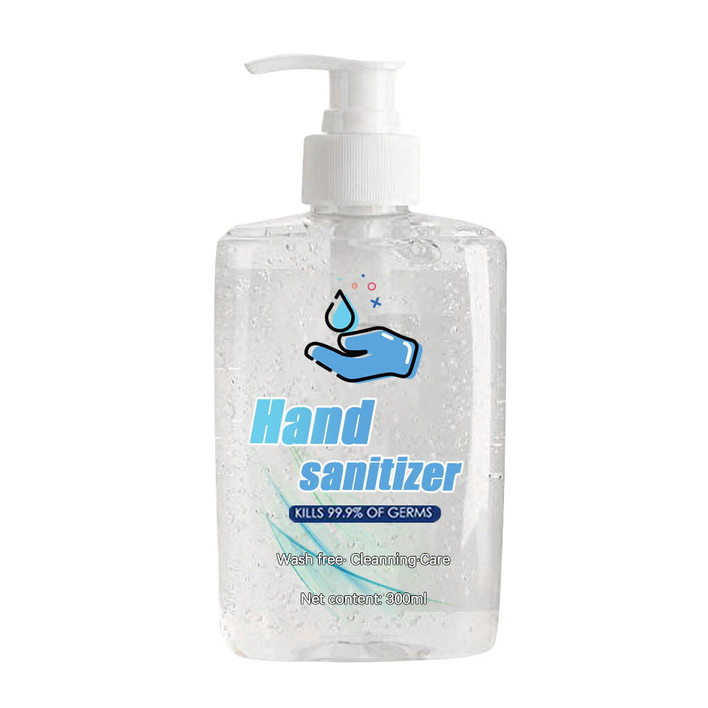 Hot 300ML Disposable Hand Sanitizer Bottle For Household Out Speed Dry Cleaning Hand Sanitizer Large Volume Bottle Disinfection