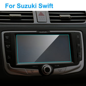 6.5 Inch Car GPS Navigation Screen Protector for Suzuki Swift Interior Tempered Glass Touch Screen Protective Film Accessories image