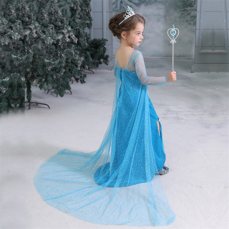 H3f23c8e6593c4d56ab2edd11d1adf980W 2019 Children Girl Snow White Dress for Girls Prom Princess Dress Kids Baby Gifts Intant Party Clothes Fancy Teenager Clothing