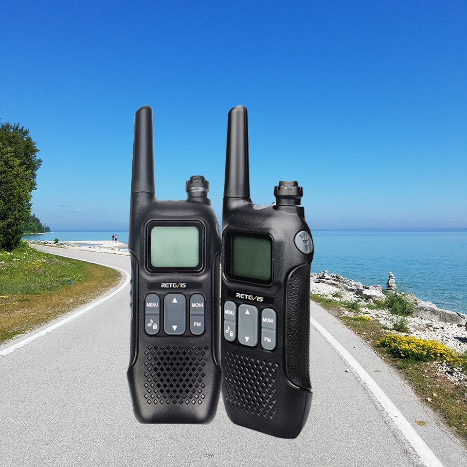 Retevis RT16 Walkie Talkie 2pcs Emergency Radio FRS VOX Family Use Weather Alert Outdoor Radio Station Two Way Radio Portable