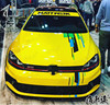 Car Sticker For Golf 7 Body Exterior Decoration Sticker Golf 7 Racing Decoration Modified Vehicle Sticker