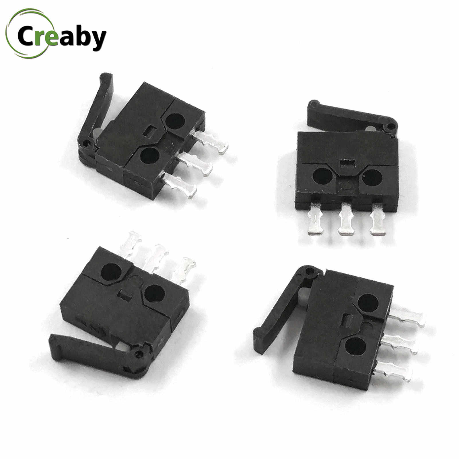 10 Pcs/lot Mini Micro Switch Kamera Reset Switch Deteksi Batas Stroke 3 Pin Sesuai Switch untuk Peralatan Digital KFC-V-307