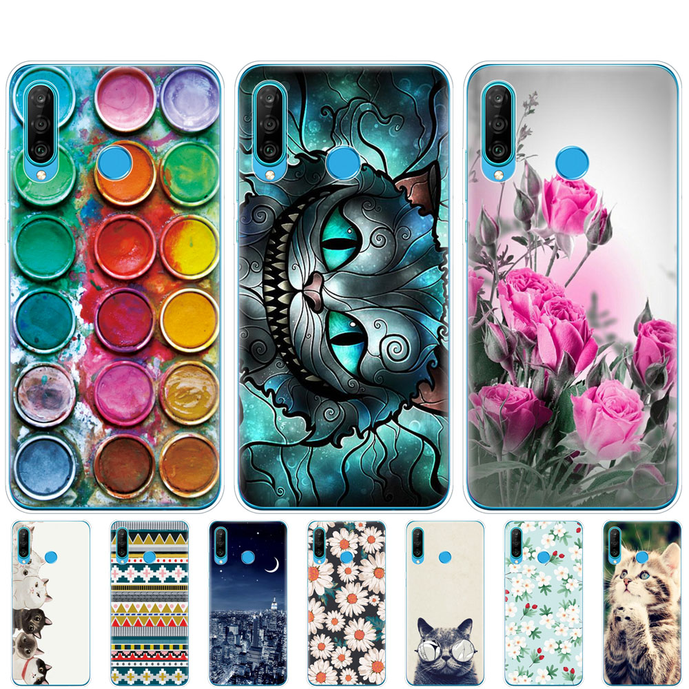 for honor 20 lite phone case on huawei honor 20 lite back cover bumper etui coque silicone tpu soft protection russian version