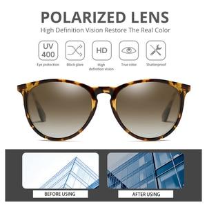 Image 4 - Pro Acme Vintage Cat Eye Polarized Sunglasses Women 2020 Tortoise Brown Retro Round Mirrored Lens gafas de sol mujer PA1266