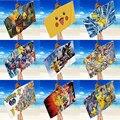 Квадратное пляжное банное полотенце TAKARA TOMY Pikachu, двустороннее бархатное быстросохнущее полотенце, портативное махровое полотенце, многофу...