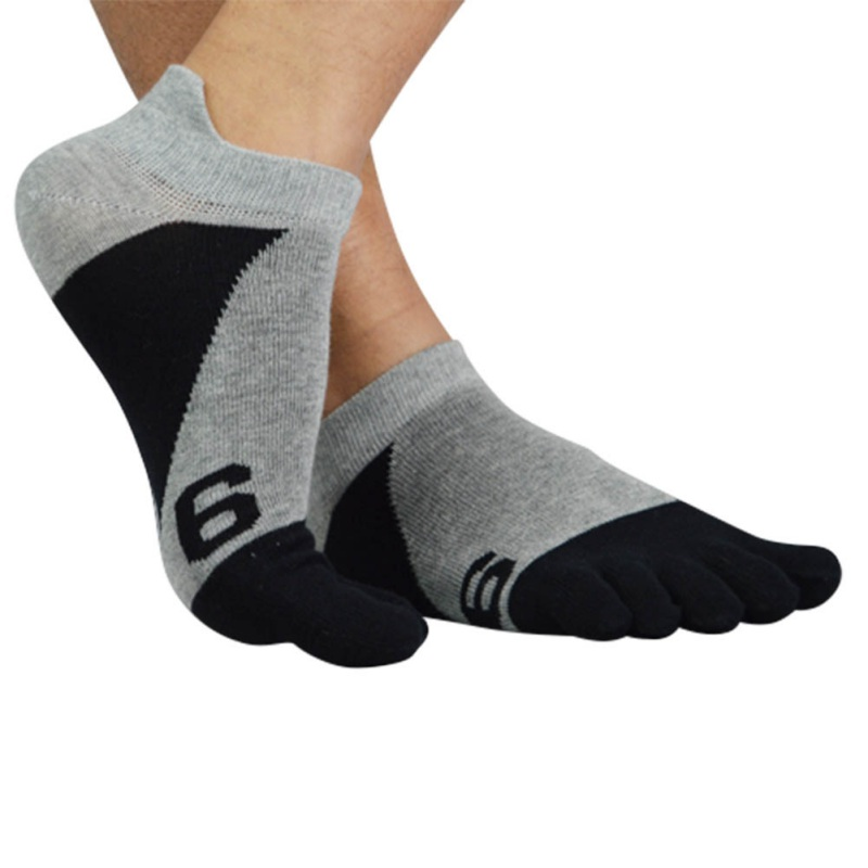 Men Sport Soft Sport Toe Socks Breathable Ankle Socks Male Socks Cotton Five Finger Socks