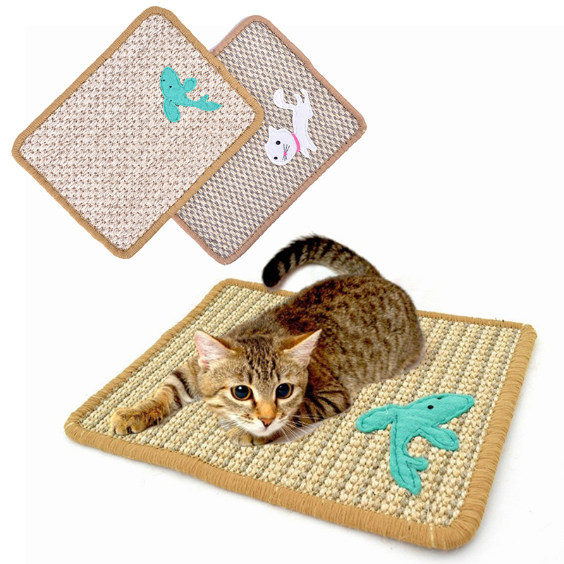 Home Scratch Pad Cat Grinding Claws Protecting Furniture Scratching Mat Pet Cat