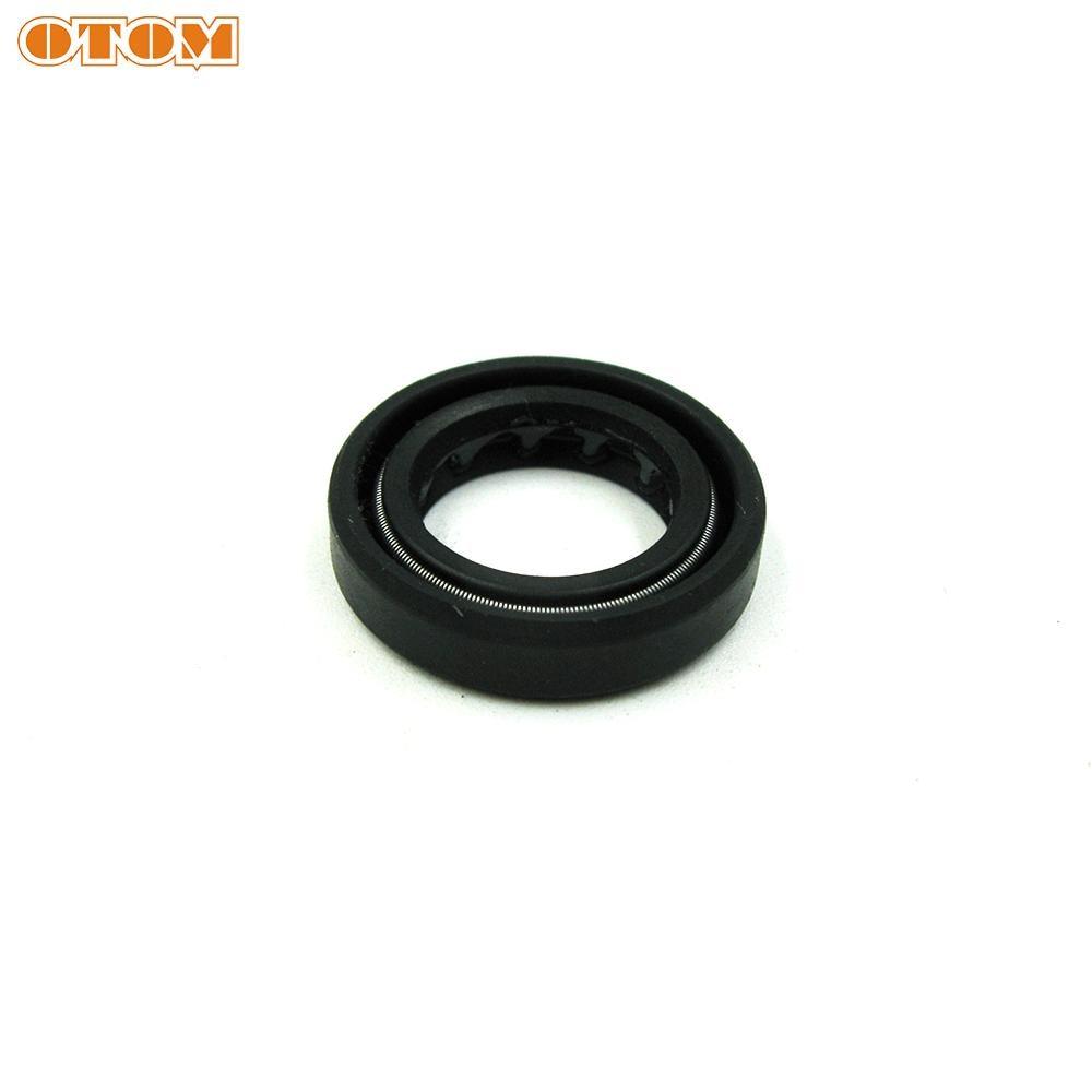 X AUTOHAUX 50mm X 68mm X 8mm Black Rubber Cover Double Lip TC Oil Shaft Seal for Car Auto