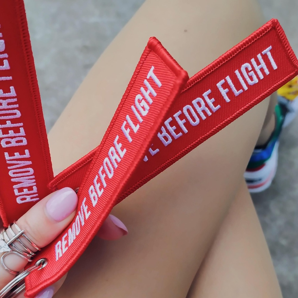 EMBROIDERY KEYCHAIN REMOVE BEFORE FLIGHT (2)