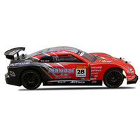 USB Rechargeable RC Car 2.4GHz PVC Simulation Drift Gift Durable Kids Toy High Speed Four Wheel Drive Explosion Proof Funny 1:14