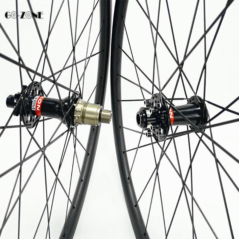 29 novatec d791sb d792sb impulso 110x15 148x12 mtb rodado 29er disco de carbono rodas am 36x28mm tubeless montanha - 2
