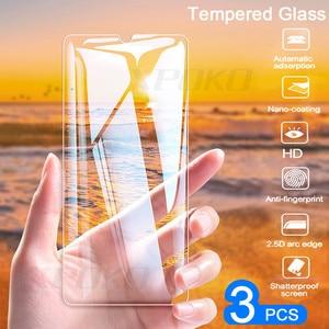 Image 1 - 3Pcs Full COVER กระจกนิรภัยสำหรับ Huawei P20 Pro P30 Lite P สมาร์ท P10 Plus ป้องกันหน้าจอสำหรับ Honor 20 10 Lite 8X ฟิล์มแก้ว