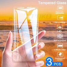 Verre trempé à couverture complète 3 pièces pour Huawei P20 Pro P30 Lite P Smart P10 Plus protecteur décran pour Honor 20 10 Lite 8X Film de verre