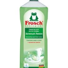 Средство для мытья посуды «Зеленый лимон» Frosch, 1 л