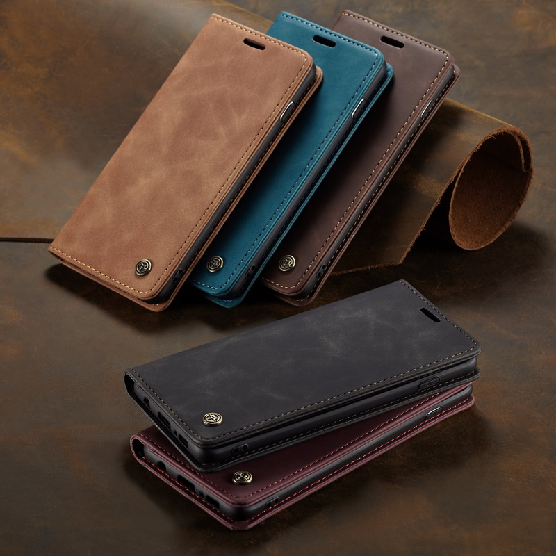 Sukoly Magnetic Leather Wallet <font><b>Case</b></font> For <font><b>Samsung</b></font> Galaxy S20 Ultra Note 10 S10 Plus A51 A71 A50 A70 <font><b>A10s</b></font> A20s A20E Stand Holder image