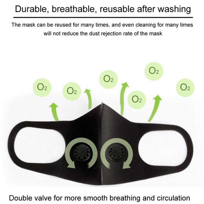 Image 2 - Pollution Mask Military Grade Anti Air Dust And Smoke Pollution  Mask With Adjustable Straps And A Washable Respirator Mask MadeMasks