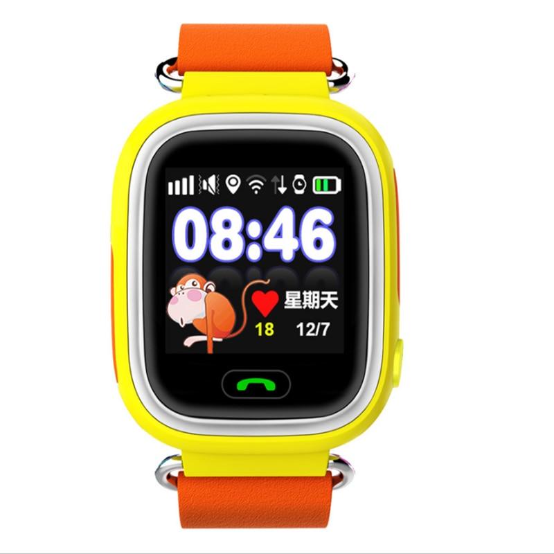 GPS Q90 bambino Intelligente Orologio cellulare con sim card WIFI Posizione SOS di Chiamata per bambini OROLOGIO