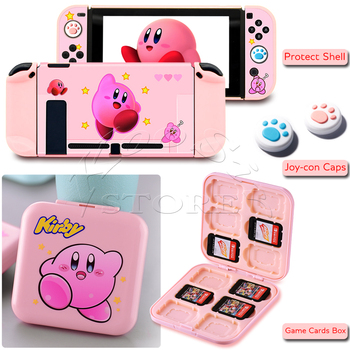 Cute Cartoon Anime Case For Nintendo Switch Kawaii Skin Protective Shell Joycon Cover For Nitendoswitch Nintend Switch Card Box 1