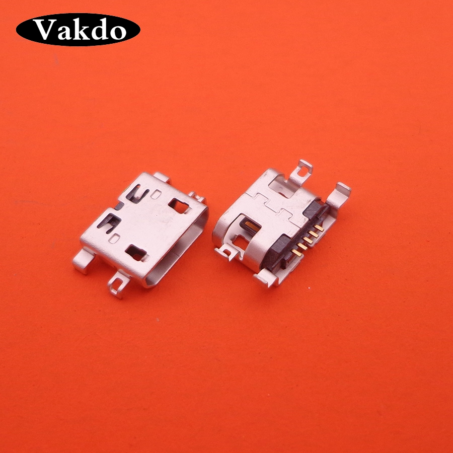 2pcs For Huawei Honor 4CPro TIT-L01 4C Pro micro usb charge charging connector plug dock jack socket port 5-pin repair part