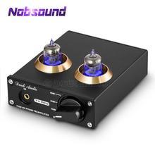 Nobsound Mini tocadiscos HiFi MM, preamplificador de Audio estéreo, preamplificador de tubo al vacío