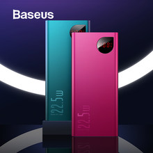 Baseus 20000mAh Quick Charge 3.0 Power Bank Type-C PD 3.0 Fast Charging External Battery Charger Power Bank for iPhone X Xs Samsung S9 S10 Huawei P30(China)