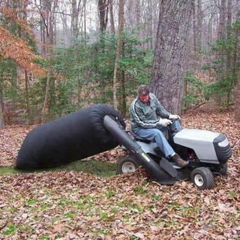 Lawn Tractor Fallen Leaves Lawn Tractor Garden Leaf Bag