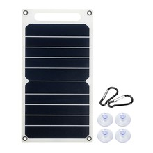 10W 6V Battery Controller Portable Mono Solar Panel USB Port Power Bank for Mobile Phone Charger(China)