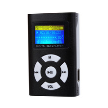 цена на 2019 USB Mini USB MP3 Player LCD Screen Portable Hands Free Support 32GB Micro SD TF Card Slot Digital MP3 Music Player Black