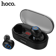 HOCO ES24 Original Bluetooth Earphone Wireless Hands-free Headset Mini In Ear Joyous Sound 5.0 Earphones Newest