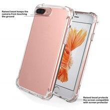 Ультратонкий прозрачный ТПУ силиконовый чехол для iphone 6, 6s, 7, 8 Plus, x защитный резиновый чехол для телефона для iphone 5S, se, XS MAX чехол