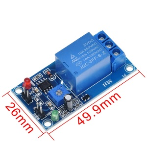 Image 5 - DC 5V 12V soil moisture sensor relay control module Automatic watering of the humidity starting switch