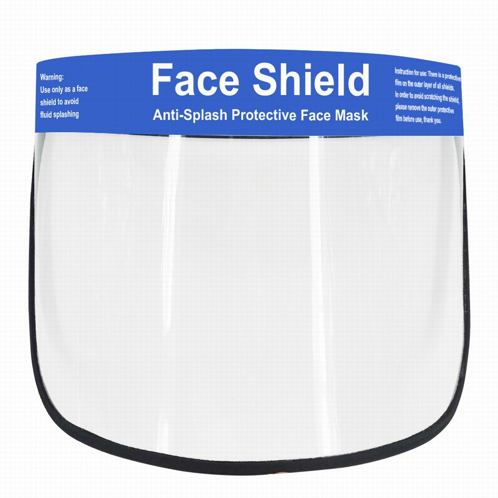 Transparent Protective Face Anti Droplet Dust-proof Protect Shield Mask Dust-Proof Face Mask  Stop The Flying Spit Prevent