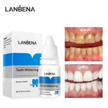 Lanbena dentes branqueamento em pó soro de limpeza de higiene oral remove manchas de placa ferramentas de branqueamento de dentes tslm1