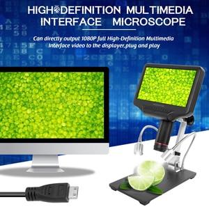 Image 2 - Andonstar AD407 High Definition Digitale Biologische Mikroskop Kamera 270X 1080P USB Elektronische Stereo Mikroskop für Löten