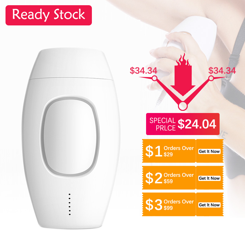 Smart Professional Permanent Ipl Hair Removal Laser Hair Removal Electric Photo Female Painless Threading Hair Removal Machine