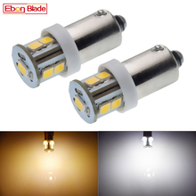 2/4 Pcs BA9S T11 T4W Bayonet 7 SMD 2835 LED White 6000K Warm White 4300K Car Motor Instrument Panel Dash Gauge Light Bulbs 6V DC