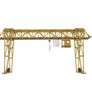 1: 87 HO Масштаб миниатюрный E5 модель крана поезд архитектурная сцена песок стол железнодорожные аксессуары Модели Строительные наборы-серый