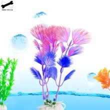 Пластиковые аквариумные растения для украшения аквариума погружные чудо-трава цветочный орнамент Декор Пейзаж 96