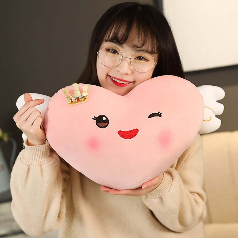 Kawaii Smiley Heart Plush 1