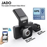 JADO D330 Car DVR Camera WIFI Speed N GPS coordinates 1080P HD Night Vision Dash Cam 24H Parking Monitor