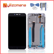 1280x720 For Xiaomi Redmi 4X LCD Display with Frame Screen Touch Panel Redmi Hongmi 4X LCD Display Digitizer +Frame Assembly for xiaomi redmi note2 lcd display panel and touch screen digitizer assembly free shipping with tracking number