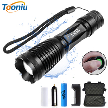 Tooniu CREE XML-L2 T6 Bicycle flahlight Waterproof Bike Light 5 modes Torch Zoomable LED Flashlight for Riding camping hunting shenyu led flashlight 26650 torch waterproof flashlight cree xml t6 l2 600 lumen zoomable portable bike camping light aa battery