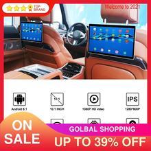 Монитор на подголовник автомобиля, 10,1 дюйма, WIFI/Bluetooth/USB/SD/HDMI/FM