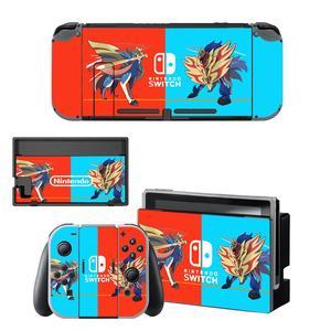 Image 3 - Dock chargeur support de support protecteur décran autocollant de protection housse de peau pour Nintendo Switch NS Console Joy con coque de manette